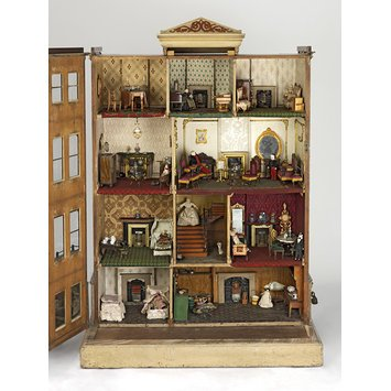 5 Dollhouses with British Domesticity Theme The Henriques House