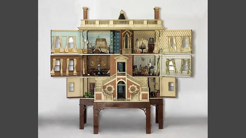 5 Dollhouses with British Domesticity Theme The Tate Baby House