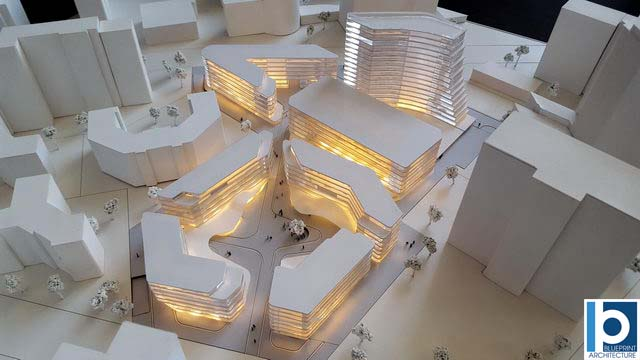 Germany Eschborn Office Building Contest Architectural Scale