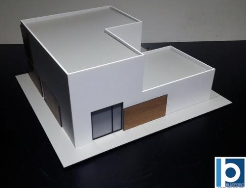 Villa with a Terrace Architectural Scale Model
