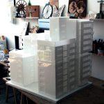 Plexiglas Acrilyc Block Concept Architectural