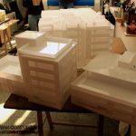 Acrilyc Block Concept Architectural Model