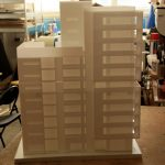 Block Concept Architectural Model