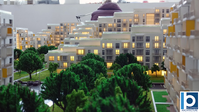 Arbo Residential Housing Outside Capital City Architectural Scalae Model (4)