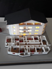 ARRA Residence Architectural Scale Model