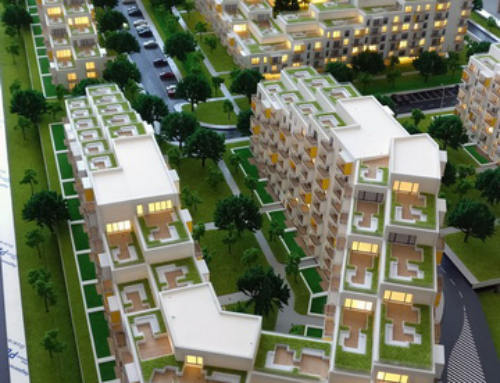 Arbo Residential Housing Outside Capital City Architectural Scale Model