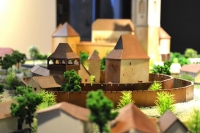 Castles and Fortified Churches of Transilvania Architectural Scale Models Calnic
