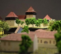 Castles and Fortified Churches of Transilvania Architectural Scale Models Viscri
