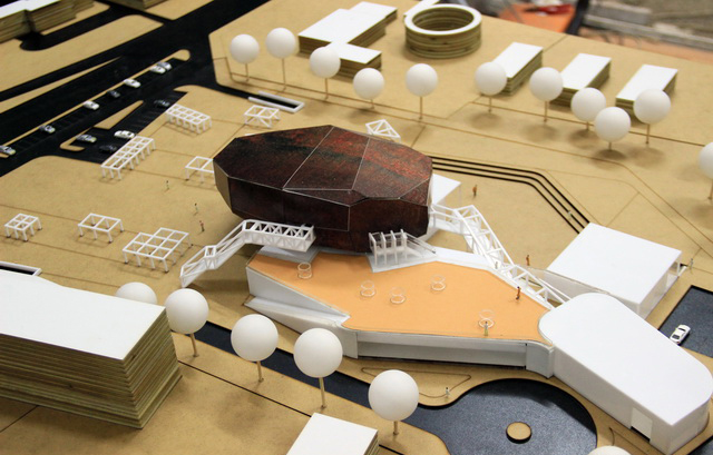 Cultural Hub Architectural Model
