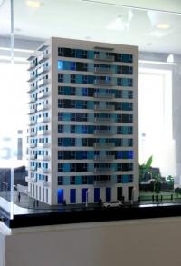Hercesa Real Estate Building Scale Model