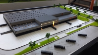 Industrial Models Factory Archtiectural Model