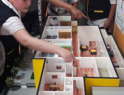 Kindergarden 1 to 50 Architectural Scale Model