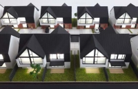 Millo Residence Scandinavian Concept Architectural Scale Model