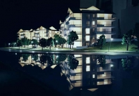 Swiss Lake Residential Housing Architectural Scale Model