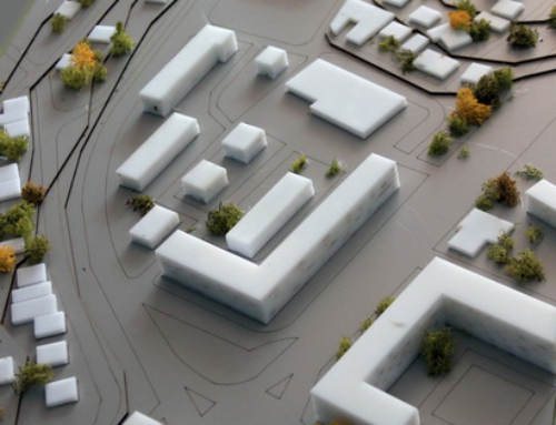 Urban Conceptual Model of a Small City Area
