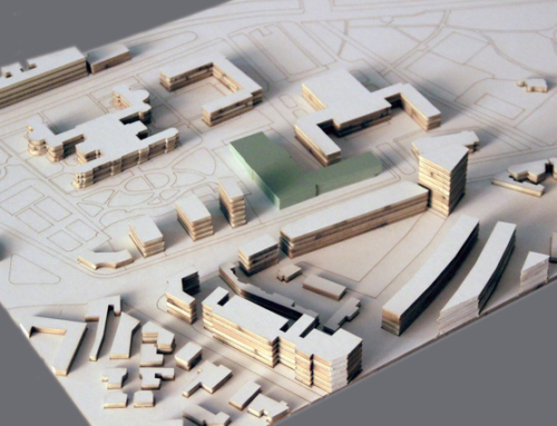 Urban Development Opera Area Architectural Scale Model