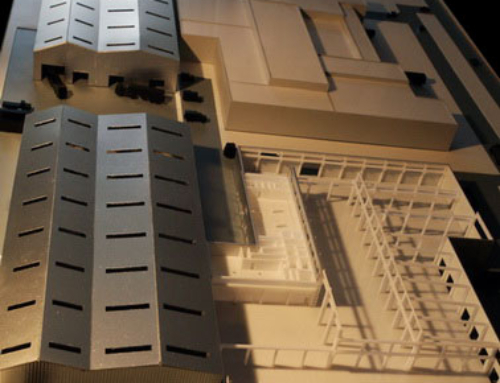 Warehouse Industrial Scale Model Detailed