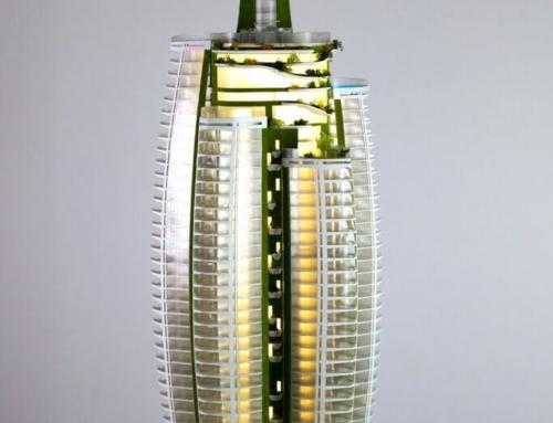 Skyscraper Scale Model