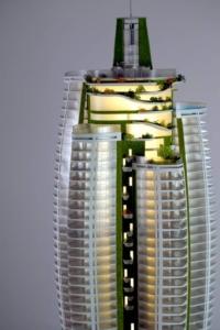 office building Model skyscraper